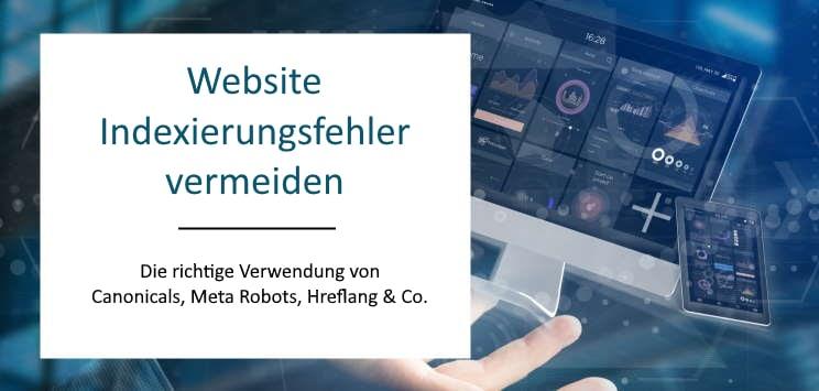 Website Indexierungsfehler vermeiden